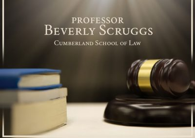 PROFESSOR BEVERLY SCRUGGS